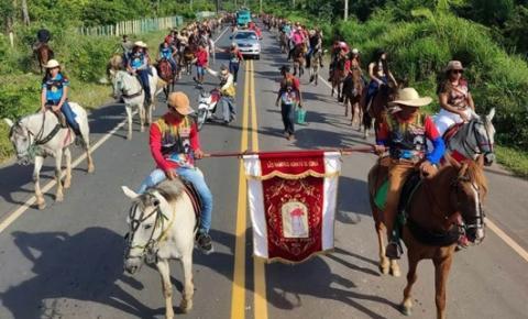 XV edição da Vaqueirama marca o penúltimo dia da Festividade de São Raimundo Nonato em Curuá   Portal Obidense