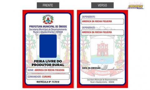Em Óbidos, permissionários da Feira do Produtor Rural passam por recadastramento   Portal Obidense
