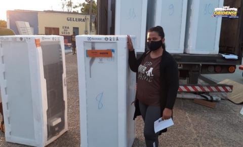 Equatorial Pará continua fazendo cadastro para troca de geladeiras em Santarém   Portal Obidense