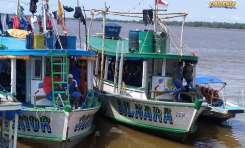 Duas embarcações apreendidas em frente ao município de Óbidos | Portal Obidense