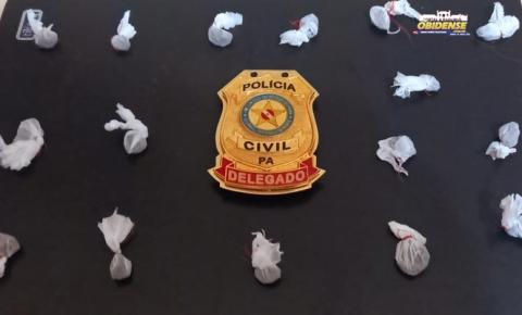 Polícia de Oriximiná prende suspeito de assalto e tráfico de drogas | Portal Obidense