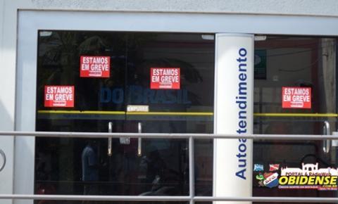 Bancários de Óbidos aderem à greve da categoria e paralisam os atendimentos