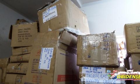 Receita Federal irá leiloar 58 lotes de mercadorias apreendidas em Óbidos