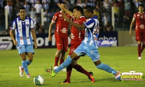Tiago Luís e Moisés marcam dois gols cada, Paysandu e Vila ficam no 2 a 2
