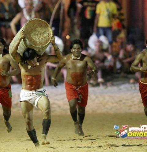 Etnias paraenses fazem apresentação cultural em Palmas