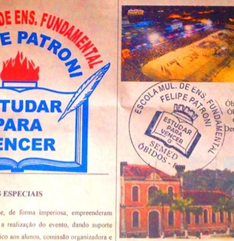 """Com o tema """"O aniversário da minha cidade"""" Escola Felipe Patroni realizará sua primeira gincana cultural de 2017."""