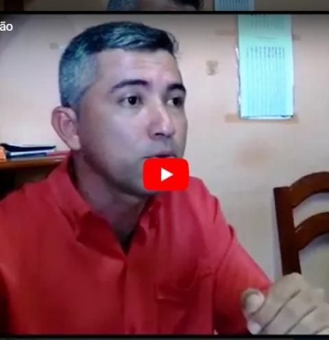 Vídeo – Matéria: Coordenador de vigilância em saúde de Óbidos fala sobre prorrogação da campanha de vacinação contra o sarampo no município.