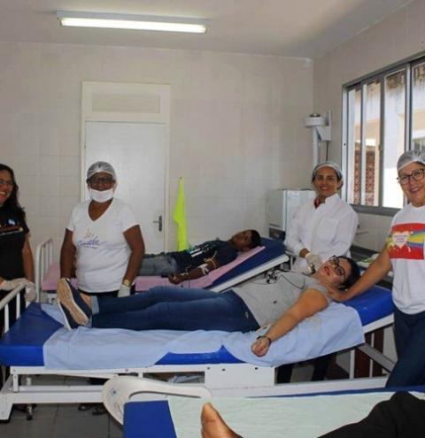Em Óbidos campanha de doação de sangue é realizada pelo hemocentro de Santarém