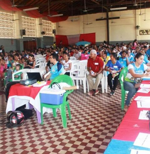"""Em Óbidos é realizado 1º encontro das Famílias """"SUAS""""."""