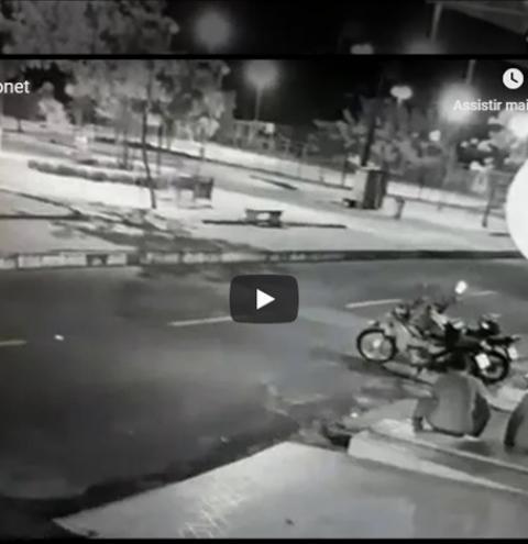 Imagens do assalto que aconteceu em uma lanchonete na cidade de Oriximiná é divulgada pela polícia na tentativa de identificar os meliantes.