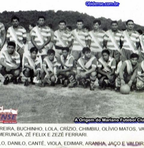 Mariano Futebol Clube completa 70 anos e comemora com festa neste dia 5 de janeiro em sua sede própria