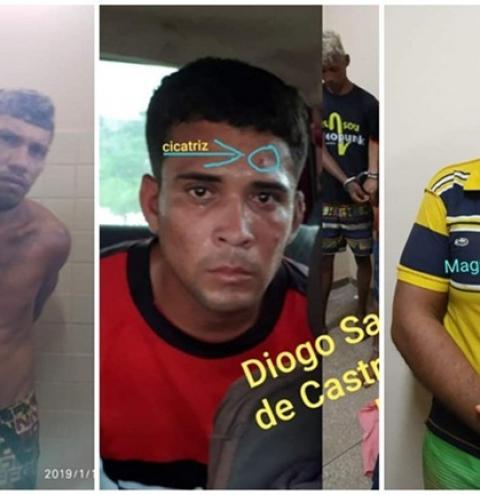Polícia de Alenquer procura 3 pessoas que fugiram na noite desta segunda-feira (28) da delegacia.