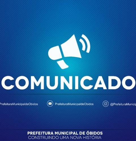 Em nota prefeitura divulga realização de pagamento de salários aos servidores da educação em Óbidos.