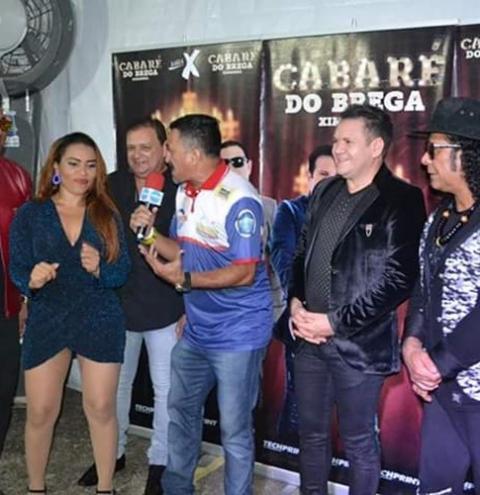 Portal Obidense transmitiu no ultimo sábado (01) shows Cabaré do Brega e Banda Amazon Becth
