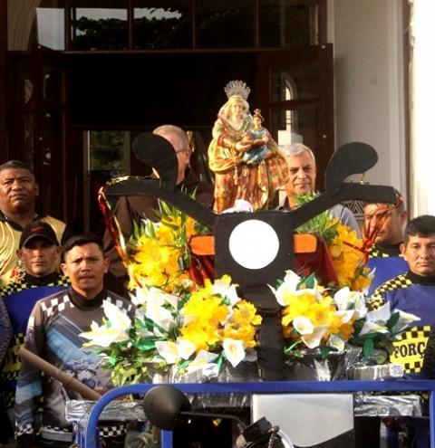 1° edição da Moto Romaria De Sant'Ana, é realizada em Óbidos