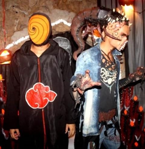 Beleza e criatividade no Halloween da Nilton Melo   Portal Obidense