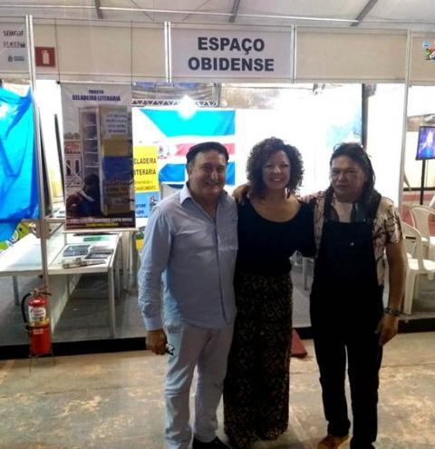Óbidos esteve presente na XXIII feira do livro do baixo Amazonas de 9 a 17 de novembro | Portal Obidense