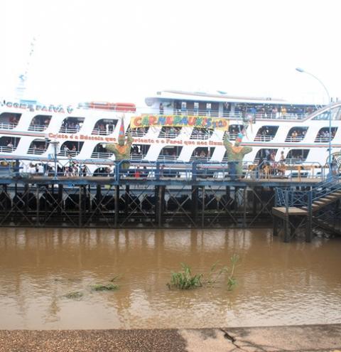 Ferry Boat Comte. Paiva sai na sexta-feira (28) para Manaus   Portal Obidense