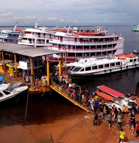 No Amazonas governador fecha as estradas de rios   Portal Obidense
