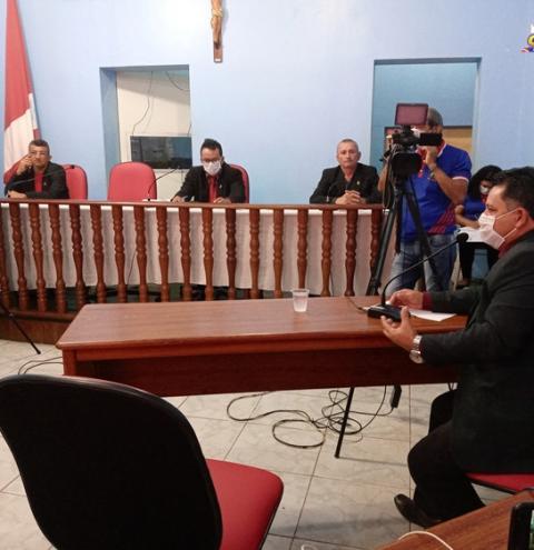 Sessão na Câmara de Vereadores discutiu combate ao Covid-19 | Portal Obidense