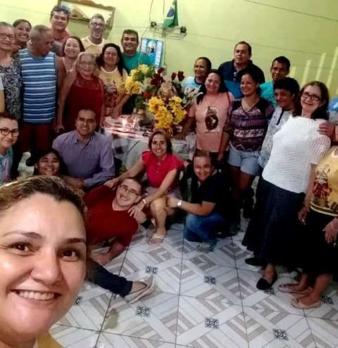 Obidense em Manaus se lembram da Peregrinação de sua padroeira   Portal Obidense