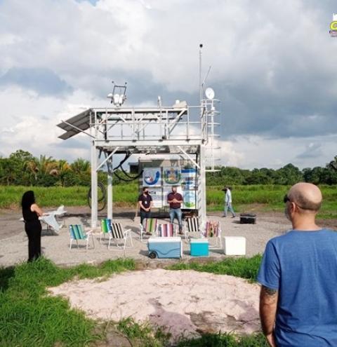Observatório Atmosférico Passa a funcionar na região e deve disponibilizar dados sobre clima e tempo   Portal Obidense
