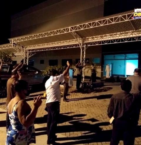 A fé que cura, ato de oração foi realizado em Óbidos | Portal Obidense