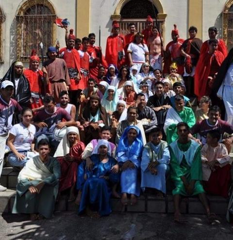 Getsêmani 28 anos de história com espetáculo da Paixão de Cristo em Óbidos | Portal Obidense
