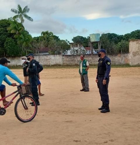 Em Oriximiná, Campos de futebol são alvos de fiscalização contra aglomerações   Portal Obidense