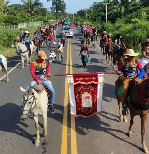 XV edição da Vaqueirama marca o penúltimo dia da Festividade de São Raimundo Nonato em Curuá | Portal Obidense
